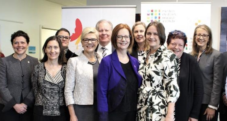 The Hon. Julia Gillard AC launches the CRE